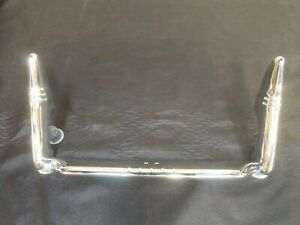 1941 Chevrolet Business Coupe Chrome License Plate Rail Assembly Bumper Guards