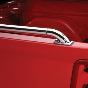 59886 Putco Ssr Locker Stainless Side Bed Rails 6 6 Bed With A Toolbox