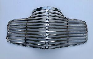 41 1941 Chevy Nos Car Grille Grill Metal Chrome Master Deluxe Chevrolet