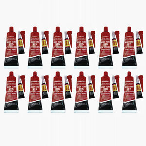12x Red Rtv Silicone Gasket Maker Sealant Adhesive 3 7 Oz For Cylinder Head