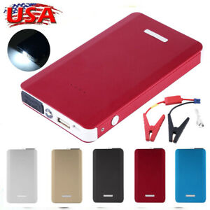 30000mah Car Jump Starter Mini Slim Vehicle Engine Battery Charger Power Bank Lm