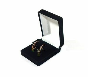 72 Drop Dangle Large Earring Black Velvet Gift Boxes Jewelry Display