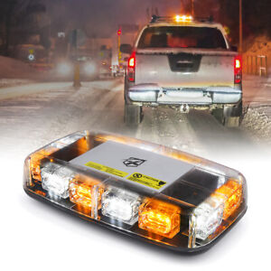 Xprite Amber 36 Led Rooftop Strobe Light W Magnetic Base For Tow Truc
