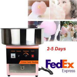 New Cotton Candy Machine Electric Commercial Floss Maker Party Carnival Festival
