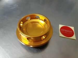 Mitsubishi Eclipse 4g63 Turbo Gold Engine Billet Oil Cap Mirage Lancer