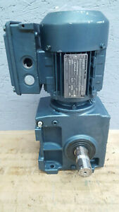 Sew Eurodrive S52dt71d6 Gearmotor 5 6 Rpm Gear Reducer Drive 230 460v 3 Ph Used