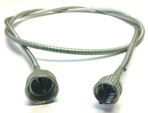 Wwii Willys Mb Cj2a Ford Gpw A1267 Speedometer Cable W Metal Housing Jeep
