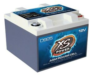 Xs Power Battery 550 Cranking Amps 12 V D Series Agm Battery P N D925