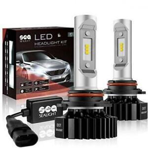 9006 hb4 Led Headlight Bulbs Conversion Kit Sealight X1 Series 12xcsp Chips