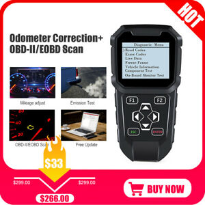 Vc309 Car Code Reader Obd2 Can Automotive Engine Fault Diagnostic Scan Tool