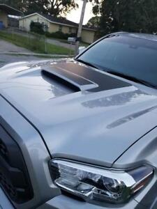 For New Toyota Tacoma Trd 2015 2016 2017 2018 W Scoop 3 Gen Hood Decal Blackout