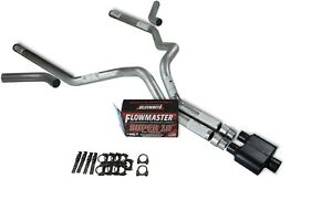 Ford F 150 04 14 3 Dual Truck Exhaust Kits Flowmaster Super 10 Corner Exit