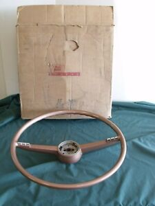 1955 Nos Ford Fairlane Steering Wheel 55 B5a 3600 B
