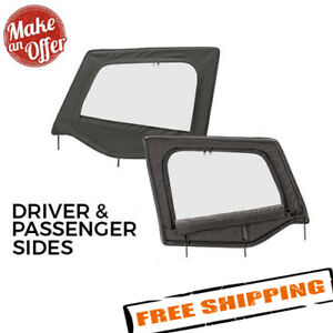Smittybilt Upper Door Skins W Frame For 1988 1995 Jeep Wrangler Yj Full Set