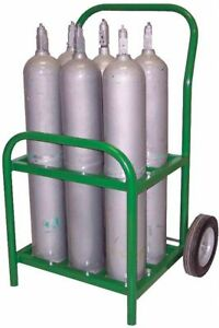 Saftcart Steel Medical Cylinder Cart Cylinder Capacity 6 250 Lb Load