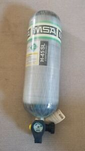 Scba Tank Msa h 45 Sl 4500 Psi Manufactured 2012 Super Light Cylinder