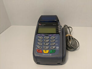 Verifone Vx510 Omni 3730 Le Credit debit Card Machine W Analog Cable used