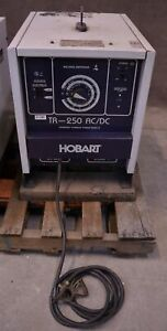 Hobart Tr 250 Ac dc Welding Power Source Tig Arc Stick Welder Machine Switch Brk