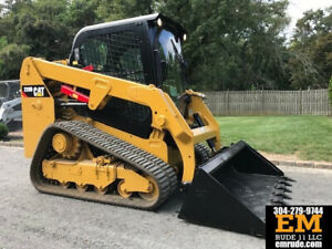 2015 Caterpillar 239d Rubber Track Skid Steer Loader Cab Ac Crawler Cat Diesel