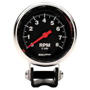 Autometer 2893 Performance Tachometer 2 5 8 8000 Rpm Chrome