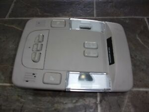 2006 2011 Cadillac Dts Overhead Console Map Light Homelink Switch W Sunroof