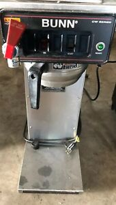 Used Bunn Commercial Coffee Maker Brewer Cw Series Good Working Condition