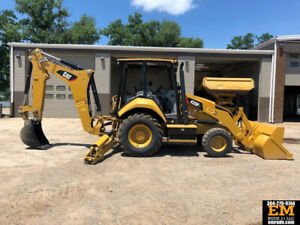 2017 Caterpillar 420f2 Backhoe Loader Extend a hoe Cab Ac Cat Diesel 420