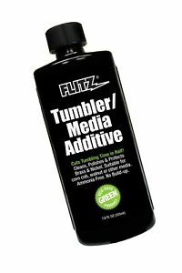 Flitz TA 04885 Green Tumbler Media Additive 7.6 oz. Bottle Single $26.59