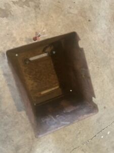 Farmall H Tractor Battery Box Antique Tractor Nice One