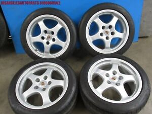 Porsche 911 964 993 996 Cup 1 Style 17x8 17x9 Wheels Rims Michelin P s Tires