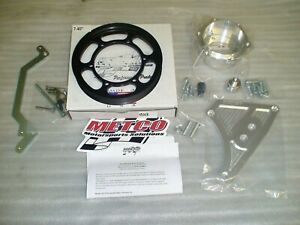 03 04 Cobra Metco Interchangeable Supercharger Lower Crank Pulley Kit Stock Size