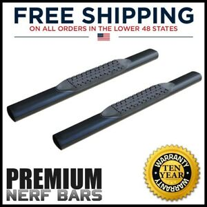 2009 2014 Dodge Ram 1500 Regular Cab 5 Inch Oval Nerf Bars Side Steps