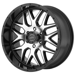 4 american Racing Ar910 20x9 6x5 5 0mm Black machined Wheels Rims 20 Inch