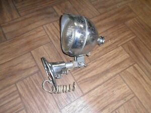 Vintage Spot Light Unity Old Fire Truck Car Rat Rod Untested Free Shipping