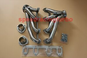 Stainless Shorty Header Exhaust Manifold For 57 67 Ford Big Block Fe 330 360 390