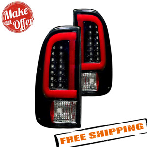 Recon 264293bk Fiber Optic Led Tail Lights For 2008 16 Ford F Series Super Duty