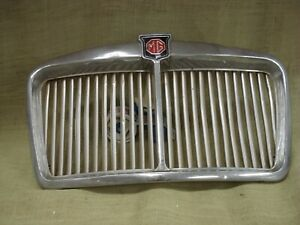 Vintage Original Mg Magnette Grill With Emblem Used