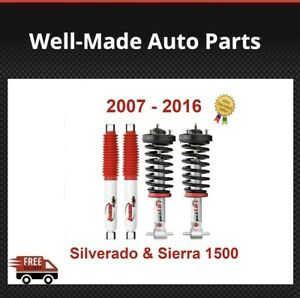 Rancho Front Rear Set Of 2 Struts Shocks For Silverado Sierra 1500 2wd 4wd
