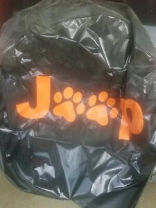 Spare Tire Cover Paw Prints Jeep Wrangler All Things Jeep Orange
