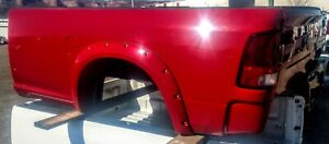 2010 2018 Dodge Ram 2500 Factory Truck Bed Red W Tailgate And Tail Lights