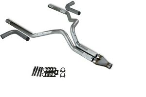 Dodge Ram 1500 04 08 3 Dual Truck Exhaust Kits Y Pipe Side Exit