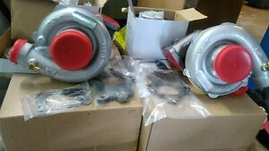 Twin T04e Turbo Kit Exact Fit 79 93 Ford Fox Body Mustang 5 0l With Intercooler