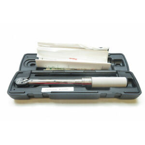 Snap On Torque Wrench Qd1r200 1 4 Drive 40 200 In Fixed Ratchet
