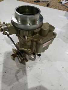 Chevy Gmc Remanufactured Rochester 1 Barrel Carburetor 235 Ci Straight 6 Cyl