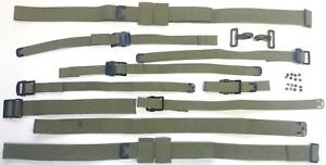 Military Jeep Willys Mb Ford Gpw a2883 a4127 Complete Strap Set Jmp