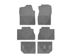 Weathertech All weather Floor Mats For 2018 2020 Honda Odyssey Full Set