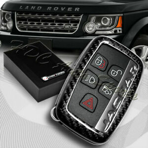 For Land Rover Range Rover Discovery Real Carbon Fiber Remote Key Shell Cover