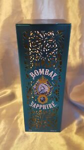 Bombay Spirits collectible turquoise tin Bombay Sapphire infused  liquor tin