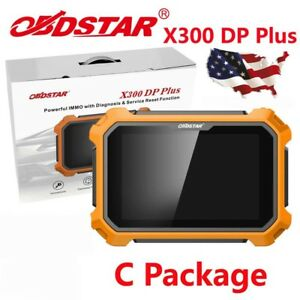 From Usa Obdstar X300 Dp Plus Tablet Diagnostic Tool Obd2 C Package Full Version