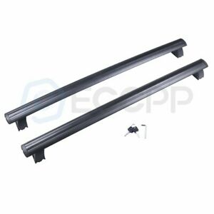 2011 2018 For Jeep Grand Cherokee Black Front Rear Roof Top Rack Cross Bar